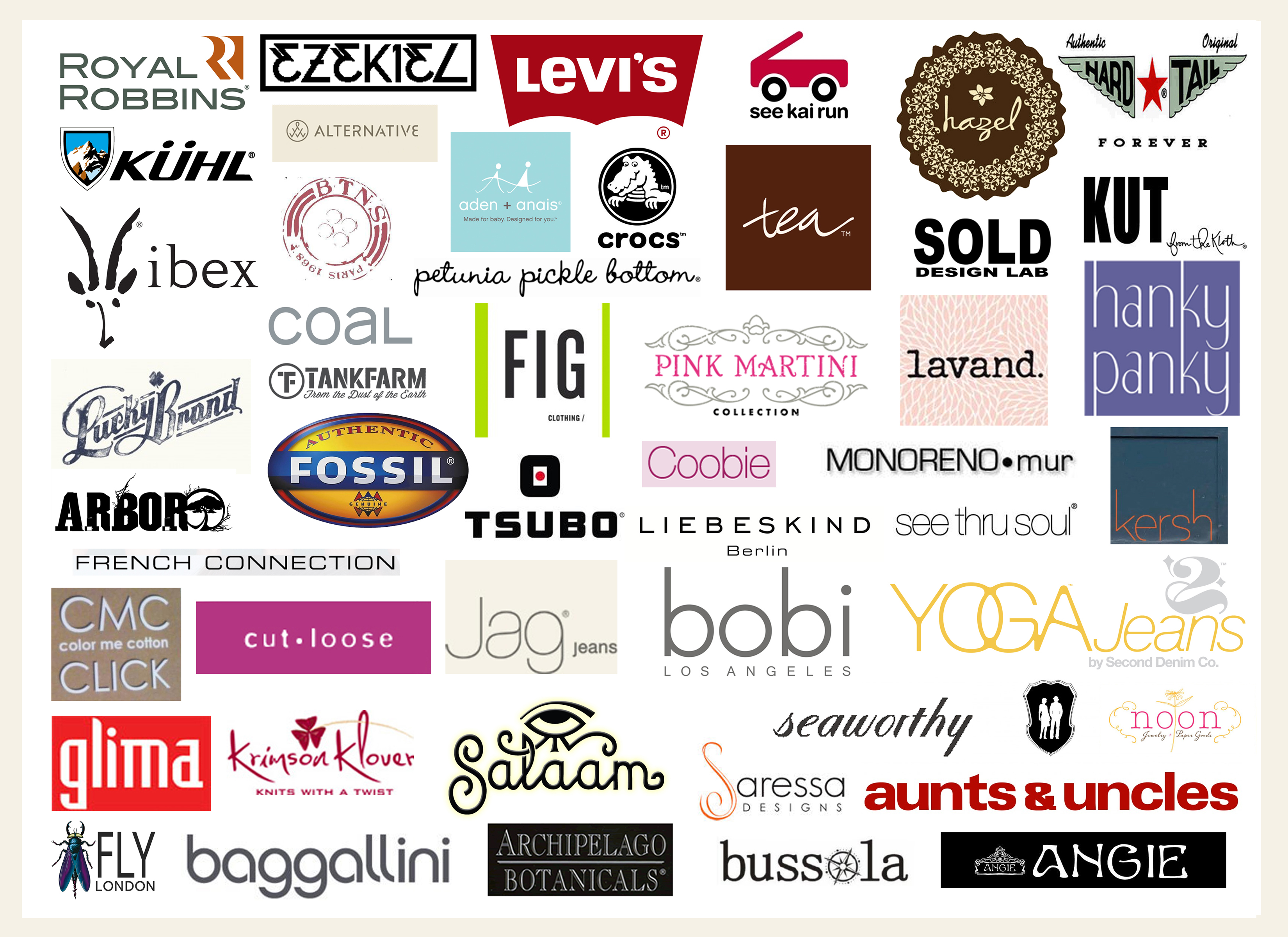 Clothing brands of France
