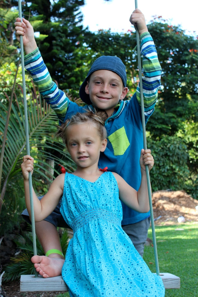 Tucker and Zanna swing